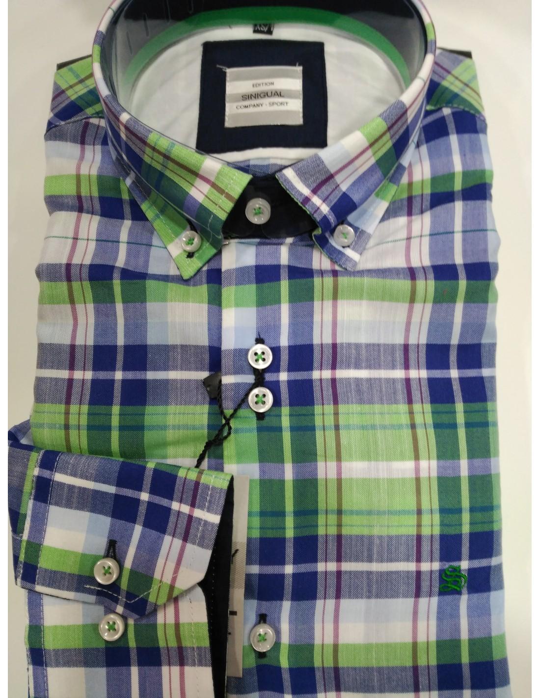 CAMISA POPELIN SINIGUAL - Montti Classic Wear - Tienda Online de ropa 12b8614a1e3d3