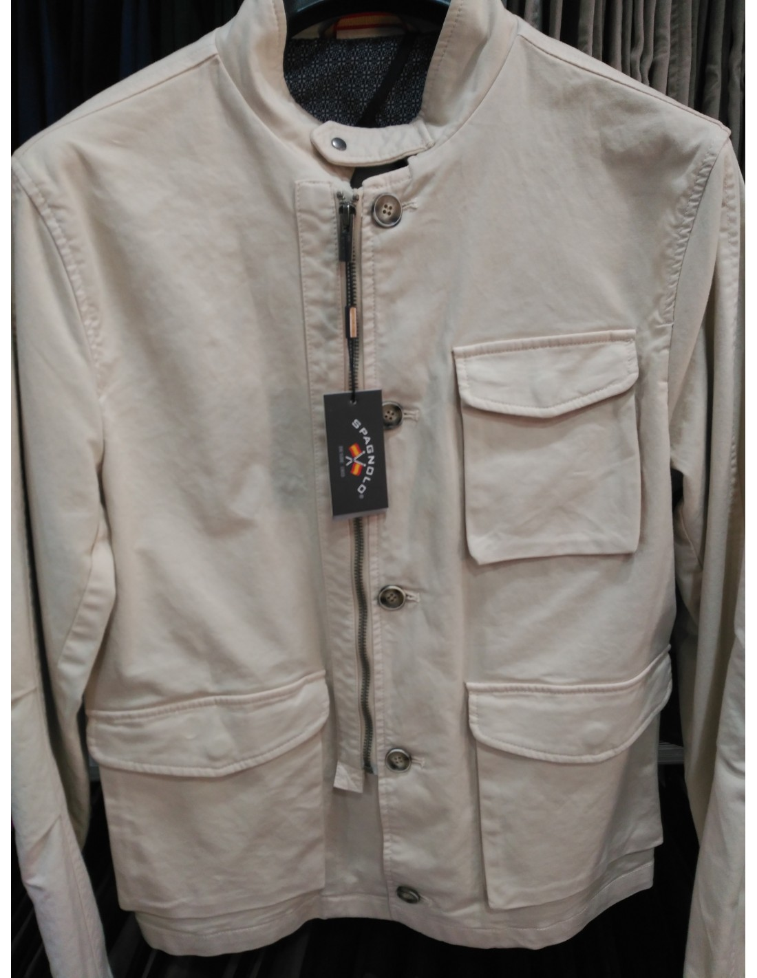 de8d80bf87f PARKA CANVAS SPAGNOLO - Montti Classic Wear - Tienda Online de ropa